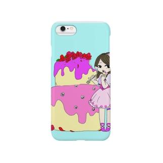 甘いお菓子…? Smartphone cases