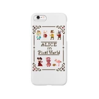 ドット絵の国のアリス Smartphone cases