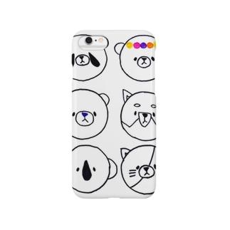 パンダくまねこいぬコアラ Smartphone cases