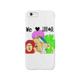 讃岐ラブレンジャーズ「We Love 讃岐」 Smartphone cases