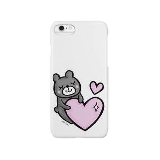 【再販】ほっこりクマさん Smartphone cases