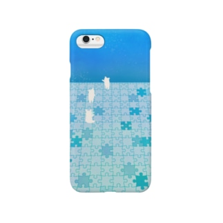Ice Puzzle Bear Smartphone cases