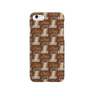HSMT design H-D BROWN BIKE Smartphone cases