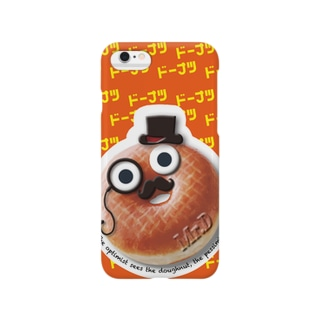 HSMT design Mr.D ORANGE BIG FACE Smartphone cases