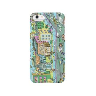 ポッピーなまち Smartphone cases