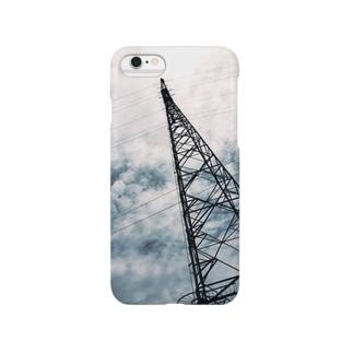 雲と電波塔...♪*゚ Smartphone cases