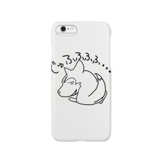笑うハスキー(ミントれすver) Smartphone cases