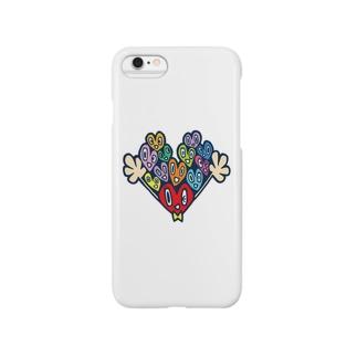 ハートちゃん Smartphone cases