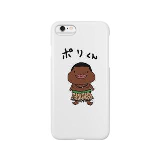 ポリくん Smartphone cases