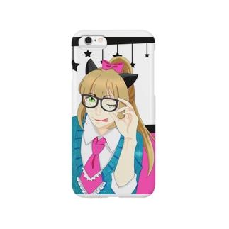 女装男子エスクロくん Smartphone cases