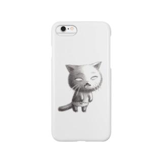 しろめねこぱんつ Smartphone cases