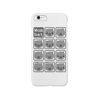 うぉんばっとくんのいろんな表情 Smartphone cases