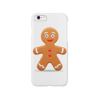 ジンジャーマンクッキー Smartphone cases