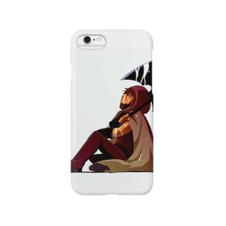 戦士と雨 Smartphone cases