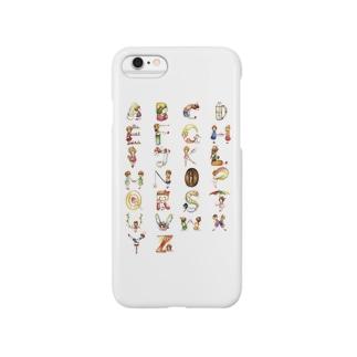 コーヒーショップと女の子 Smartphone cases