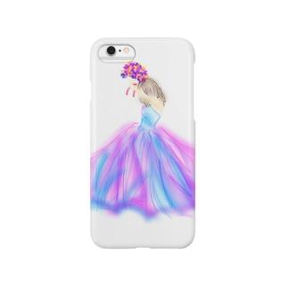 ドレスアップガール❤︎ Smartphone cases