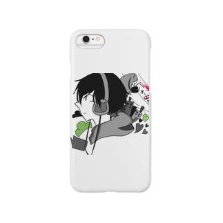 チョロ松にゃーちゃんアイコン Smartphone cases