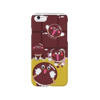 チョコちょこぞう Smartphone cases