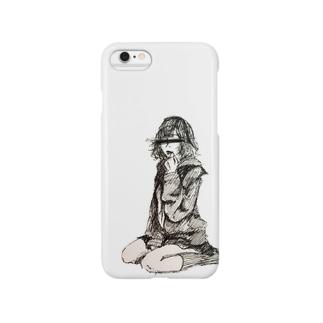 セーラー服女子 Smartphone cases