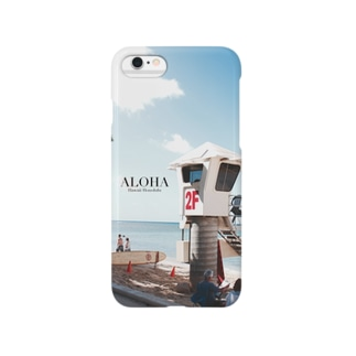 ALOHA ~ beach side ~ Smartphone cases