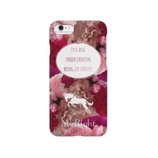 花柄ファッション「ラナンキュラスの愛情」 Smartphone cases