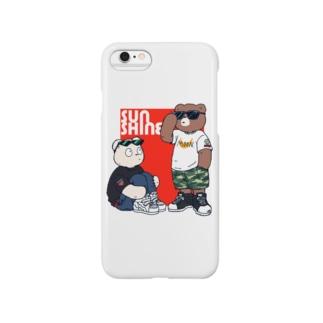 ベアーズ(赤) Smartphone cases