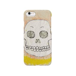 ガガガ ガイコツ Smartphone cases