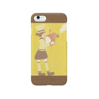 iPhoneケース(iPhone6 / 6s用)◆ ema-emama『pain-de-mie』 Smartphone cases