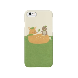 iPhoneケース(iPhone6 / 6s用)◆ ema-emama『happiness-clover』 スマートフォンケース