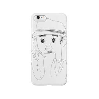 ぼうしひげさん Smartphone cases