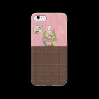 やたにまみこのiPhone6 / 6s用ケース◆ ema-emama『sweet-cat』 スマートフォンケース