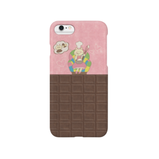 やたにまみこのiPhone6 / 6s用ケース◆ ema-emama『sweet-cat』 Smartphone cases