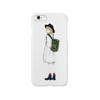 「travel ;)」 Smartphone cases