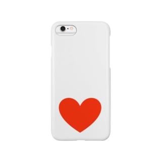 でっかいハート Smartphone cases