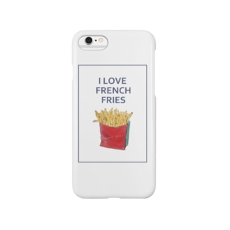 I LOVE FRENCH FRIES Smartphone cases