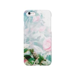 椿と山と Smartphone cases