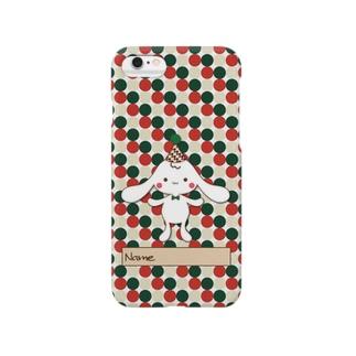 DropDwarf:グリーン×レッド Smartphone cases