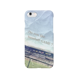 Do you like baseball GAME Smartphone cases