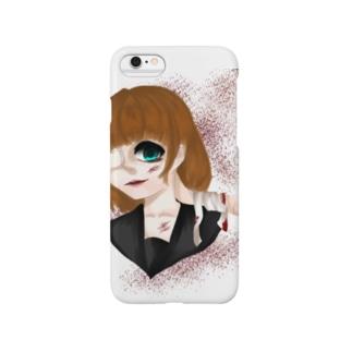 メンヘラ少女 Smartphone cases