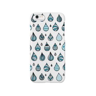 たのしい雨のiPhone6ケース スマートフォンケース