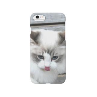 悪い顔 Smartphone cases