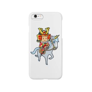 武士くん Smartphone cases