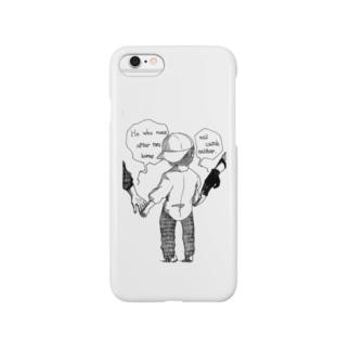 英語でことわざシリーズ「二兎を追う者は一兎をも得ず」 Smartphone cases