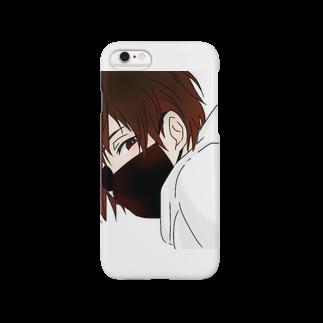 """怪盗""""夜""""[ないと]@漆黒のぷりんの夜月 Smartphone cases"""