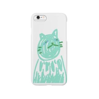 氷猫 Smartphone cases