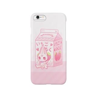 ぎんちゃんといちごみるく Smartphone cases
