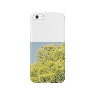 なびく木 Smartphone cases