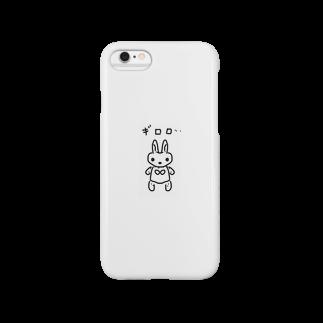 ウサギロボット スマートフォンケース