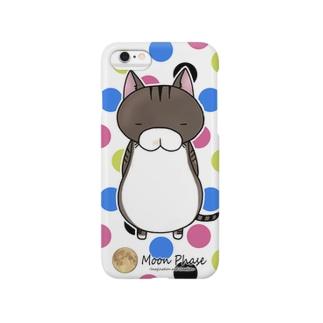 サバトラにゃんもげら(水玉) Smartphone cases