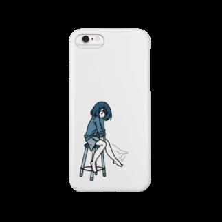 NanamiWのイスにすわってるせんぱい Smartphone cases